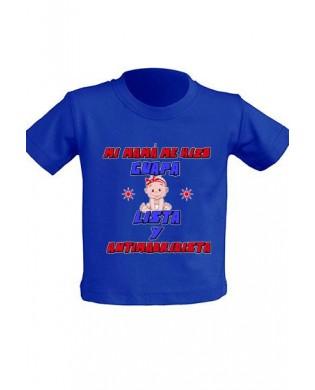 """Camiseta Infantil """"Mi mamá..."""