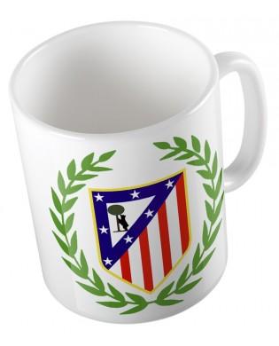 "Taza ""escudo Atleti laurel"""
