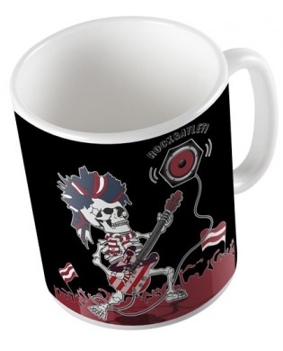"Taza ""Rock and Atleti"""