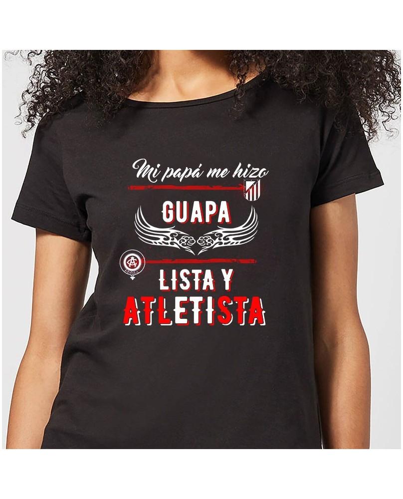 Camiseta chica Mi papá me hizo guapa 893be1095cab6