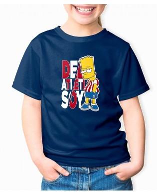 Camiseta Infantil Simpson...