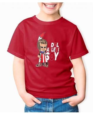 Camiseta Infantil India del...