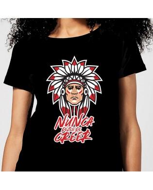 Camiseta chica Indio NUNCA...