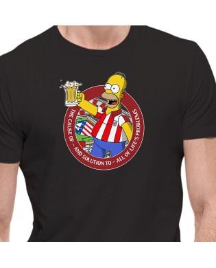 Camiseta HOMMER SIMPSON ATLETI