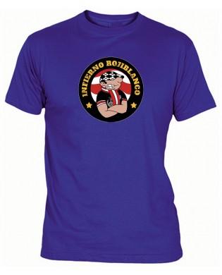 Camiseta Infierno Rojiblanco
