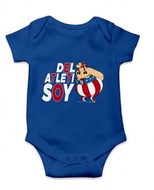 Body bebé Obelix del Atleti...