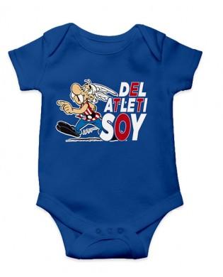 Body bebé Astérix Atleti