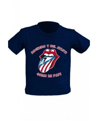 "Camiseta Infantil ""Rockero..."