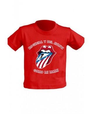 """Camiseta Infantil """"Rockera..."""