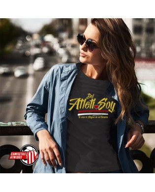 Camiseta chica Del Atleti Soy