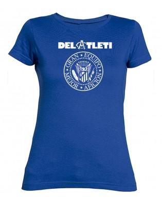 Camiseta chica RAMONES Atleti