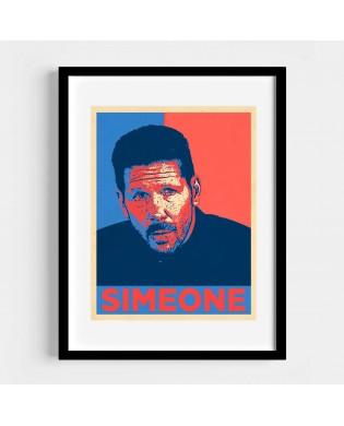 Cuadro Simeone Estilo Hope
