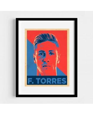 Lámina Fernando Torres...