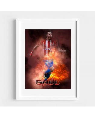 Cuadro Saúl Atlético