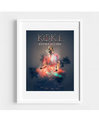 Cuadro Koke Resurrección