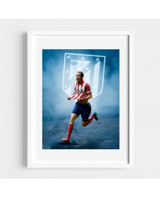 Cuadro Godín Atlético