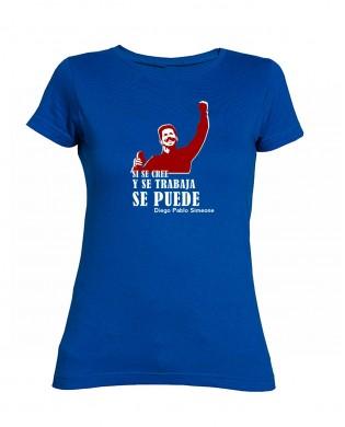 Camiseta chica Si se cree y...