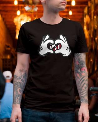 Camiseta Escudo ATM Corazón
