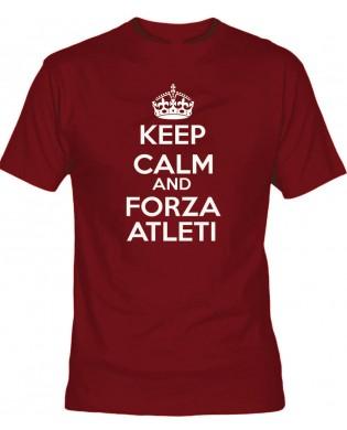 Camiseta Keep Calm Forza...