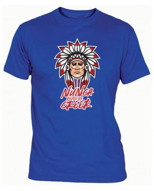 Camiseta Indio NUNCA DEJES...