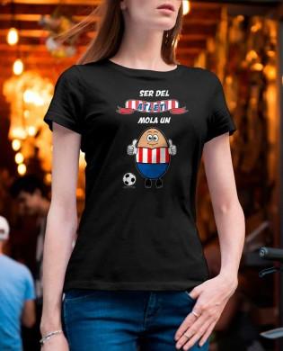 Camiseta chica Mola un...