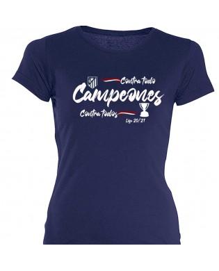 Camiseta chica Atleti...