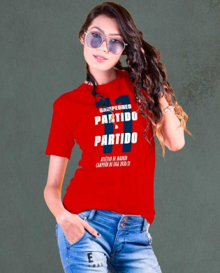 Camiseta chica Partido a...