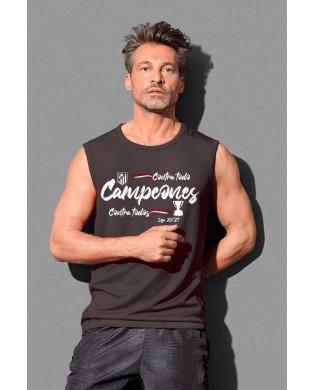 Camiseta sin mangas campeón...