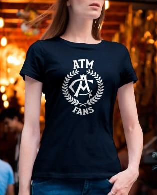 """Camiseta chica """"ATM FANS"""""""