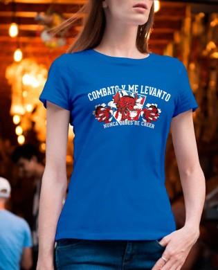 """Camiseta chica""""Nunca dejes..."""