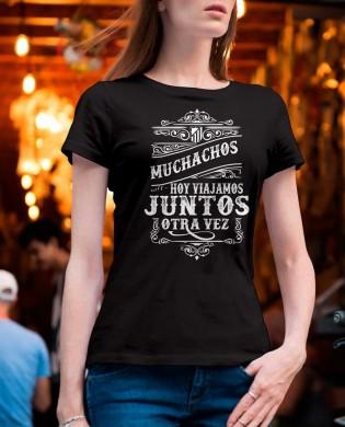 """Camiseta chica """"Muchachos..."""