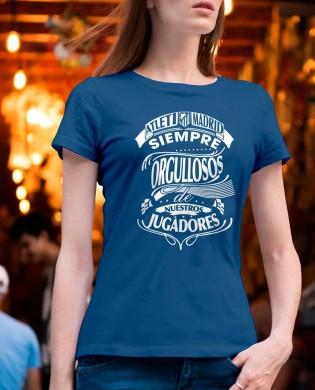 """Camiseta chica """"Orgullosos..."""
