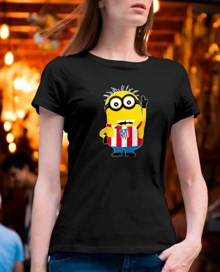 """Camiseta chica """"Minion Atleti"""""""