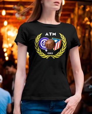 """Camiseta chica""""ATM 1903 balón"""""""