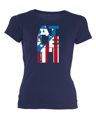 "Camiseta chica""Forza Atleti"""