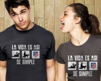 Camiseta ´La vida es así de simple